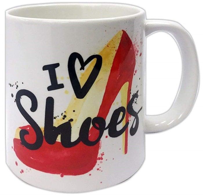 I Love Shoes Coffee Mug