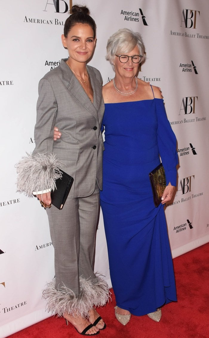 Katie Holmes was joined by her mother, Kathleen, at the 2018 American Ballet Theatre Gala