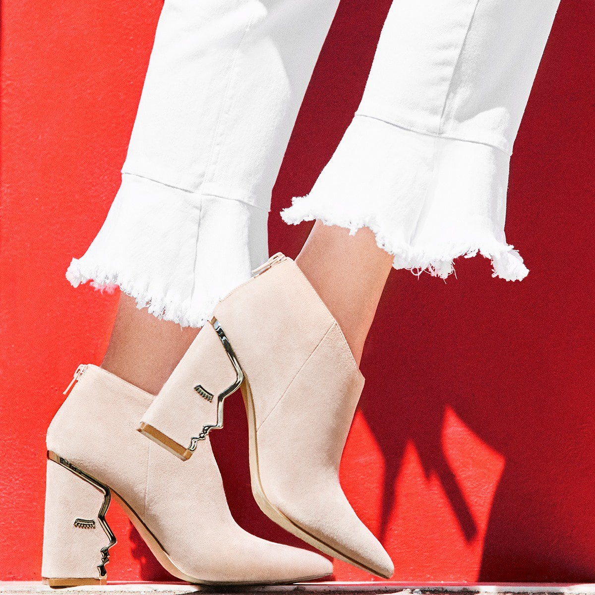 Choose the right silhouette for your ensemble with the Katy Perry Gypsy booties
