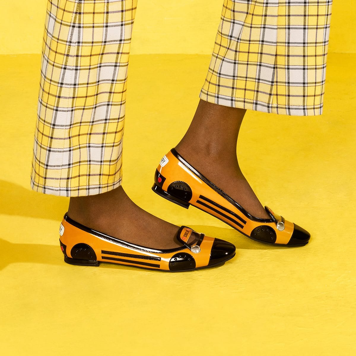 Pack up your pencils and stay smart in theseflats that aren't too cool for school