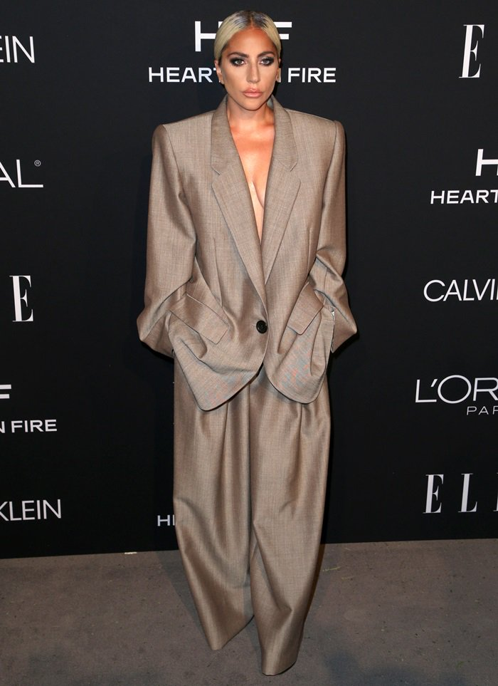 Lady Gaga gave a powerful speech as an honoree at the 2018 Elle Women in Hollywood celebration held at the Four Seasons Hotel in Beverly Hills, California, on October 15, 2018
