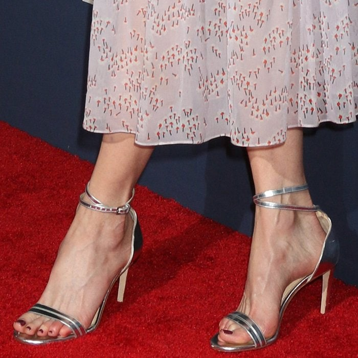 Nicole Kidman shows off her feet in Chloe Gosselin's Narcissus sandals