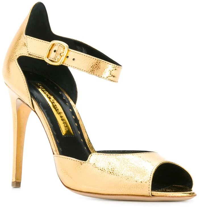 RUPERT SANDERSON ankle strap sandals