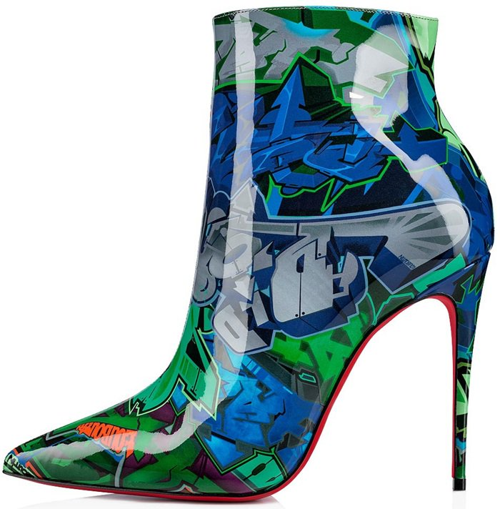 The So Kate Booty pulsates with urban energy this season creating a delicious juxtaposition where street art meets the utmost in class and femininity