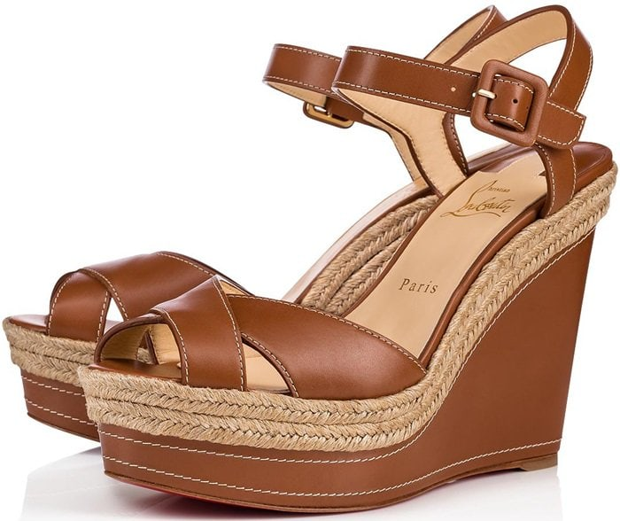 The perfect combination of casual and chic, these wedge sandals are just begging to be worn on your next vacation to the French Riviera, or really anywhere the weather permits