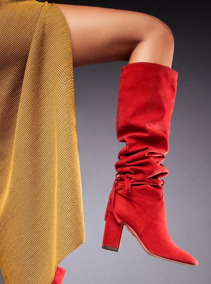 Granata Red Milano Boots