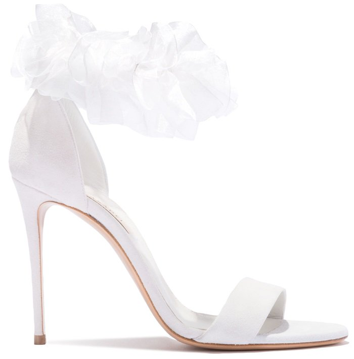 Aurora Bridal Sandal by Casadei