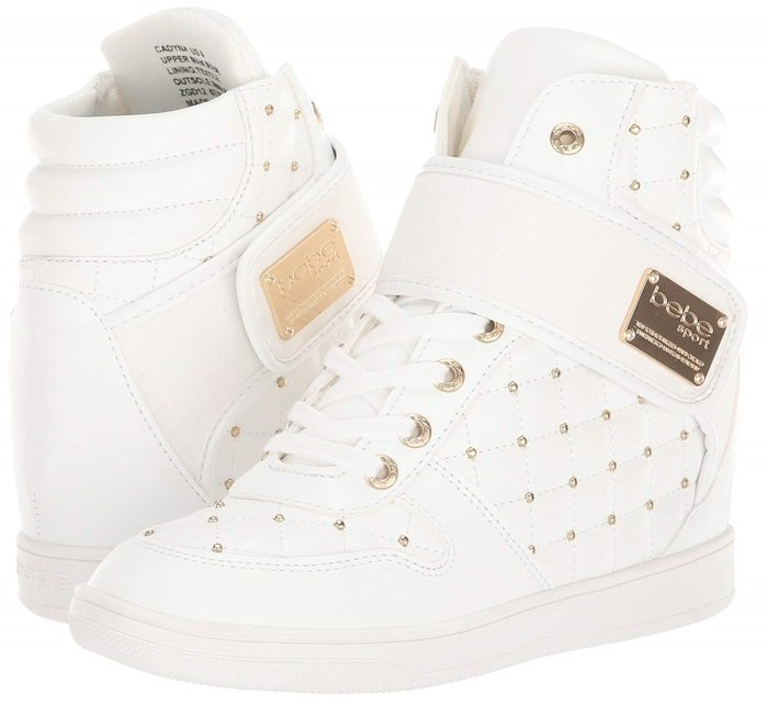 Bebe Cadyna Wedge Sneakers