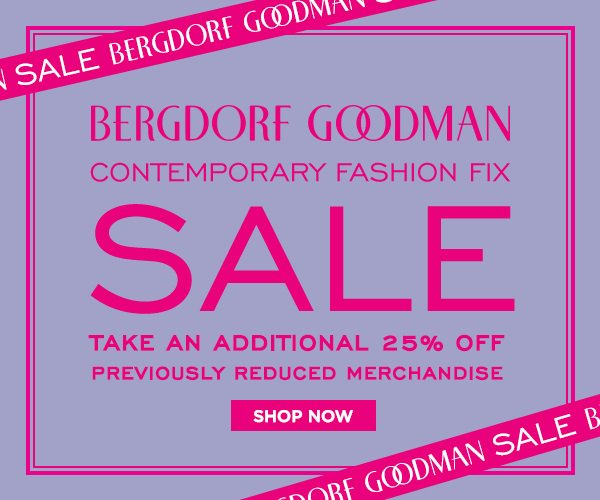 Bergdorf Goodman Black Friday 2018