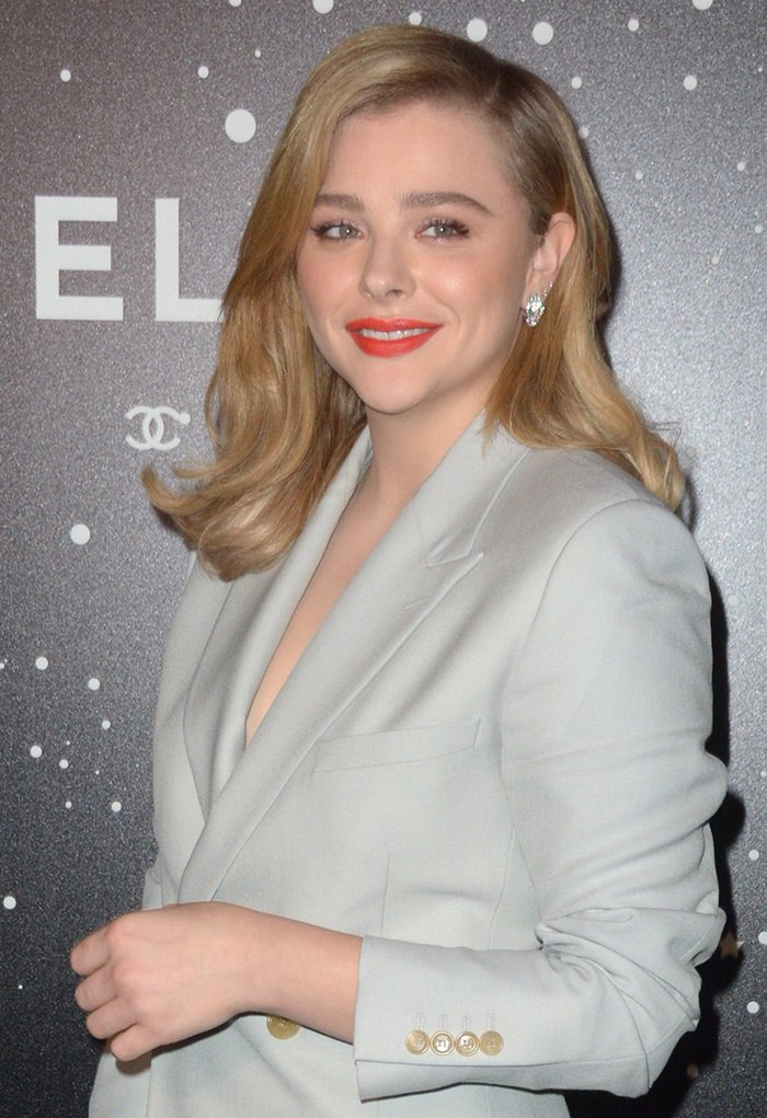 Chloë Grace Moretz attends The Museum Of Modern Art Film Benefit Presented By CHANEL: A Tribute To Martin Scorsese in New York City on November 19, 2018