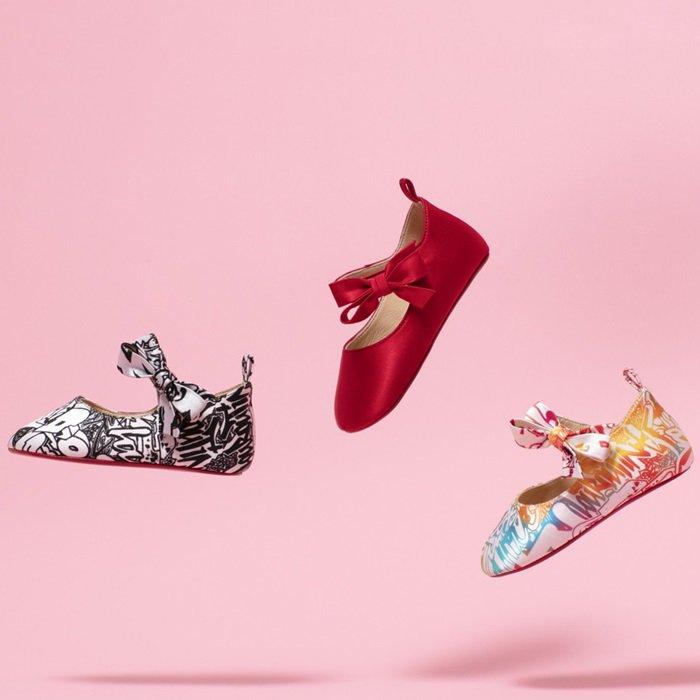Christian Louboutin's New Pint-Size Shoe Capsule