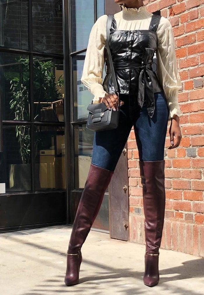 Sexy Thigh-High Stiletto Gidget Boots