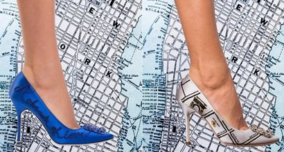 f18963d09727 Manolo Blahnik s Iconic Hangisi Pump From Sex and the City Celebrates 10  Years