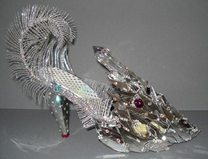"""High Heel """"Vanity Fish"""" Sculpture"""