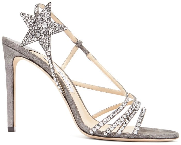 Lynn also boasts a large hotfix crystal star on the sling back strap that sits perfectly on the ankle