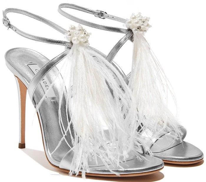 Silver Perla di Labuan Sandals