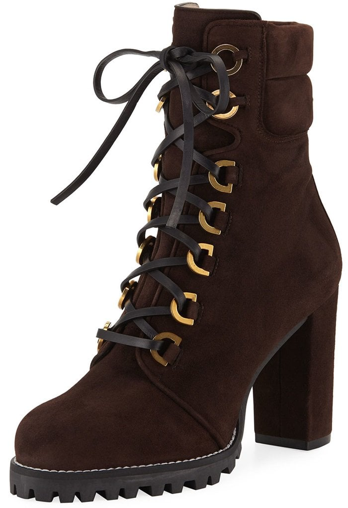 Hickory Shackleton Suede Combat Boots