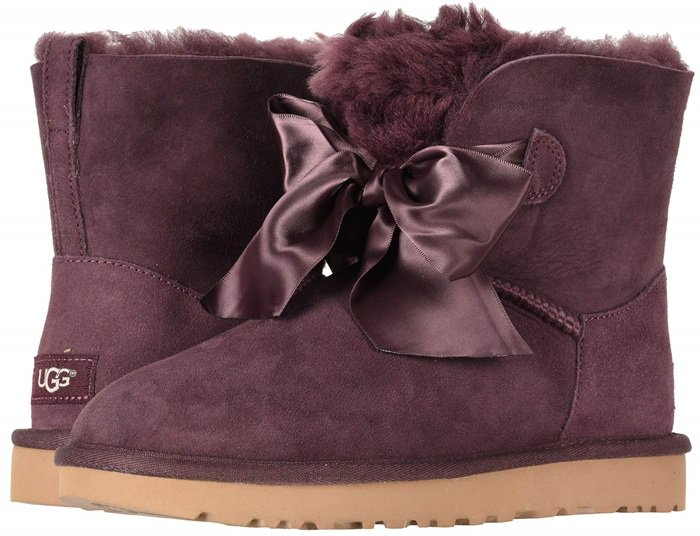 Gita Bow Mini Boots by UGG
