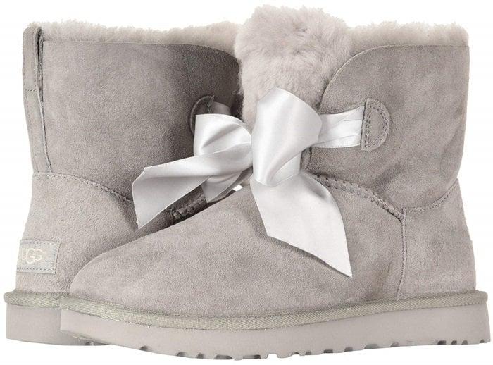 Gita Bow Mini Boots