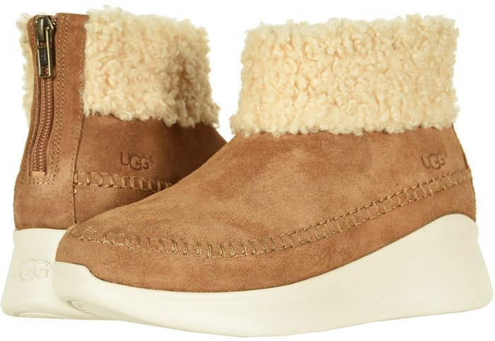 Built on a chunky outsole, this sneaker is crafted with an unmistakable UGG feel and street-style inspiration