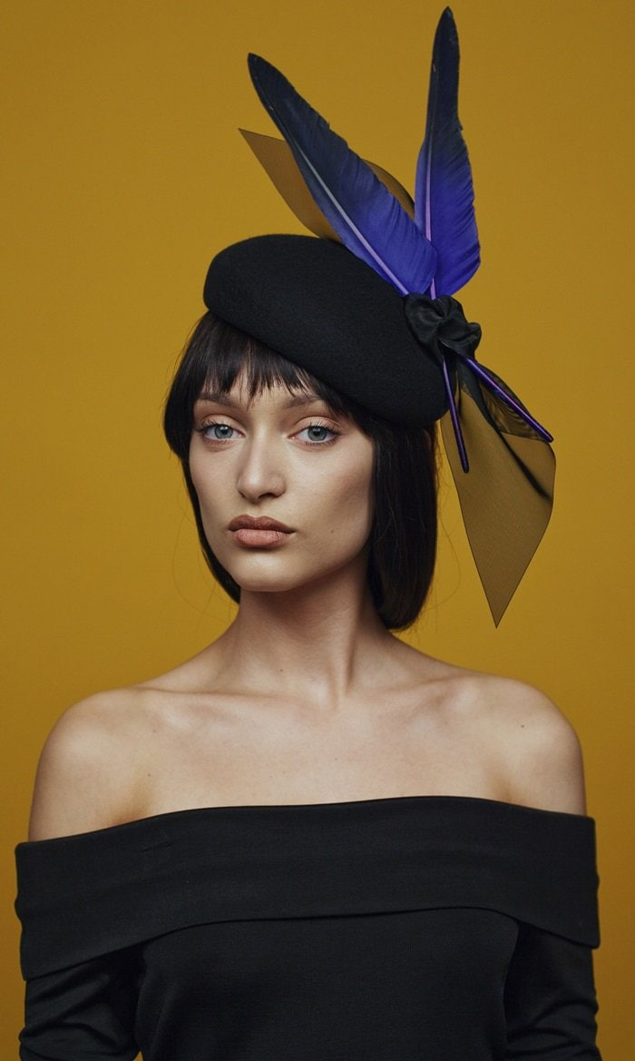 Awon Golding Millinery Vika Cocktail Hat