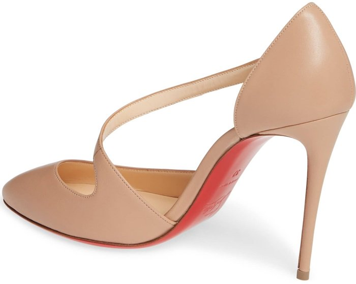 Nude Catchy One Strappy d'Orsay Pumps
