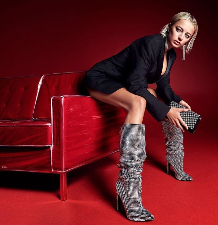 Dominate like the style diva you are in these stunning Steve Madden Crushing boots