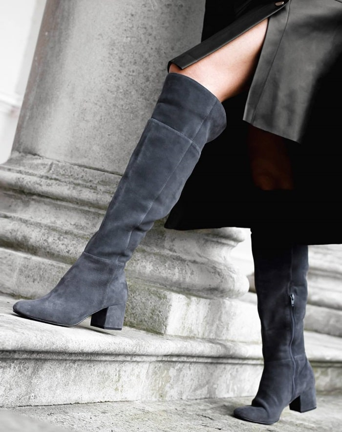 Dune London knee-high boots