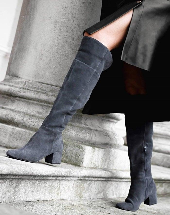 Dune London knee-high boots