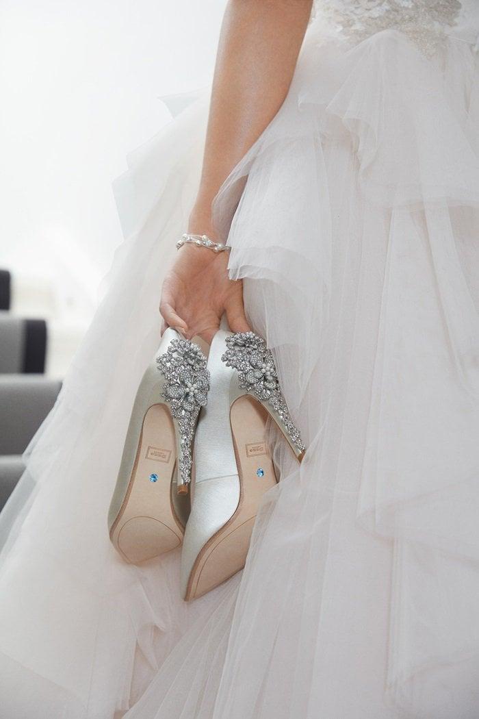 Dune London bridal shoes