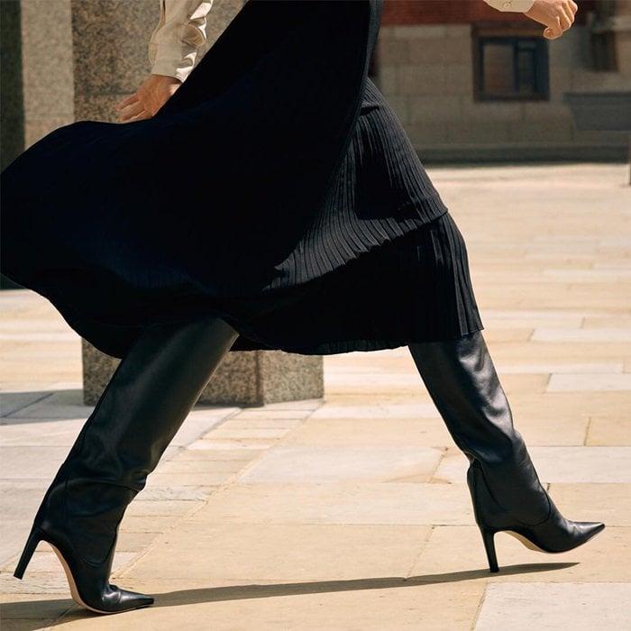 Jimmy Choo Mavis Tall Leather Boots