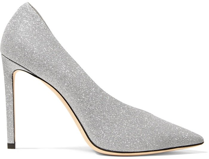 Don't reserve these statement pumps just for formal events - this shimmering pair looks equally chic with jeans, too
