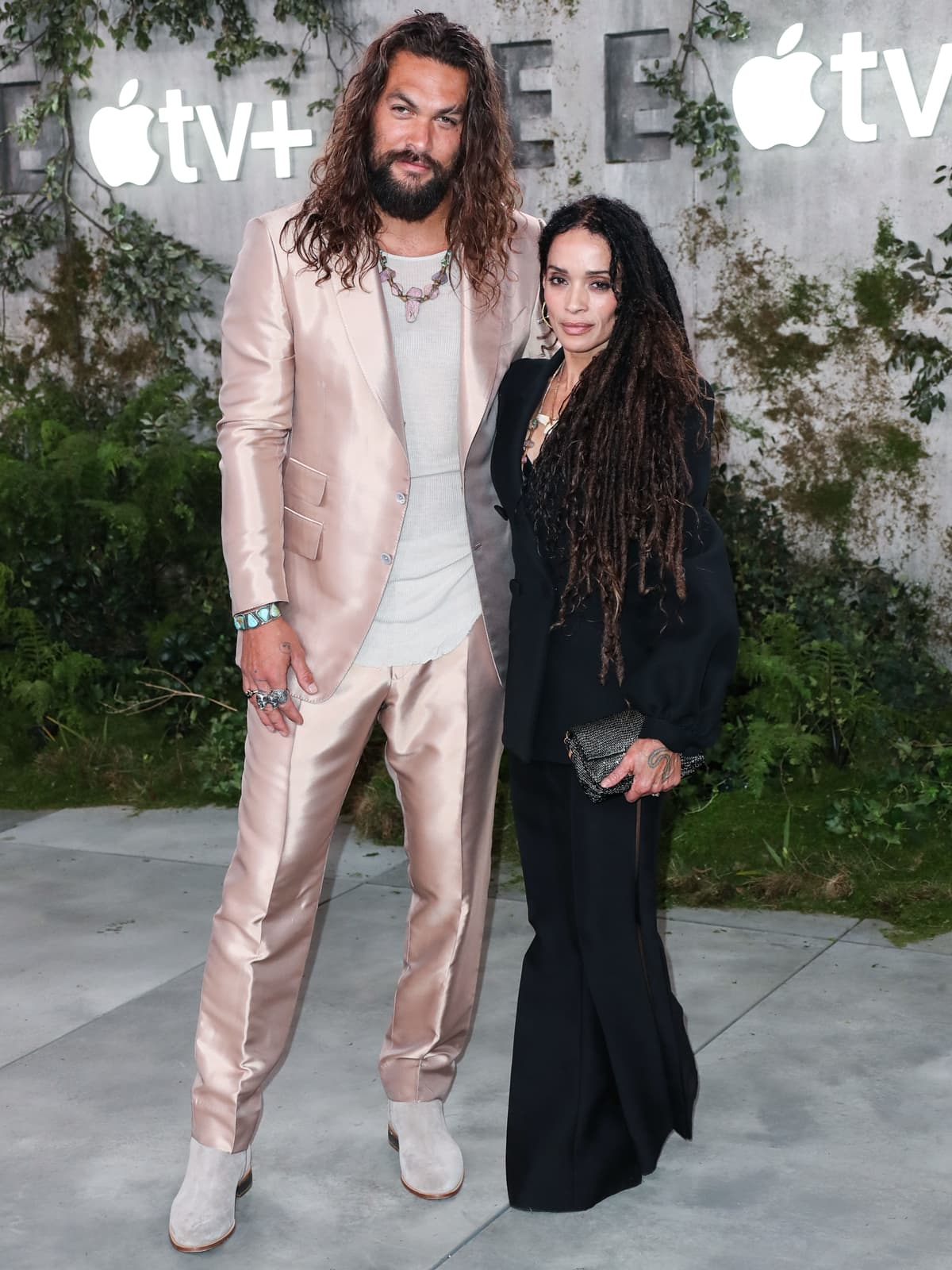 Actor Jason Momoa and wife/actress Lisa Bonet