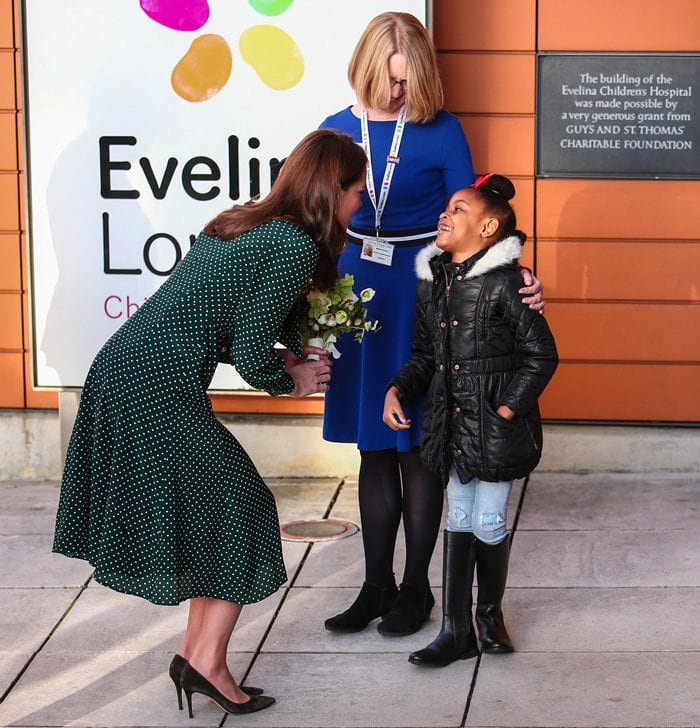 Catherine, Duchess of Cambridge (aka Kate Middleton) was recently made a patron of Evelina London Children's Hospital, which supports young children with rare afflictions