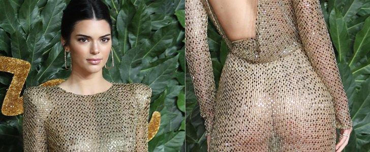 Kendall Jenner Brings Kartrashian Style to British Fashion Awards