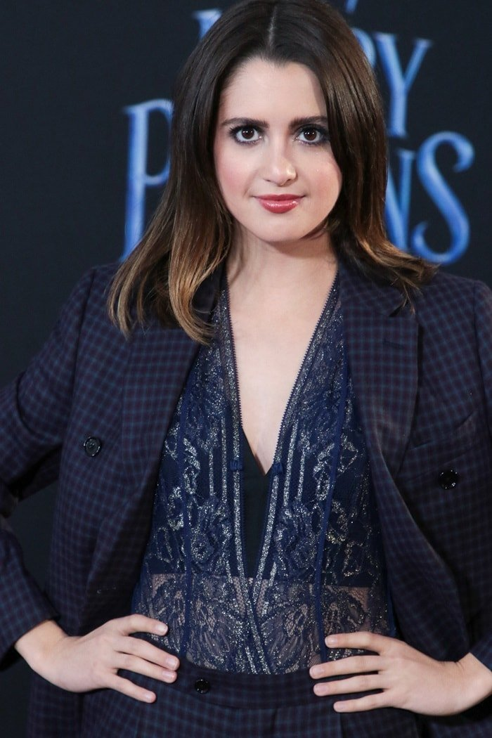 Laura Marano Celebrates 23rd Birthday In Custom Check