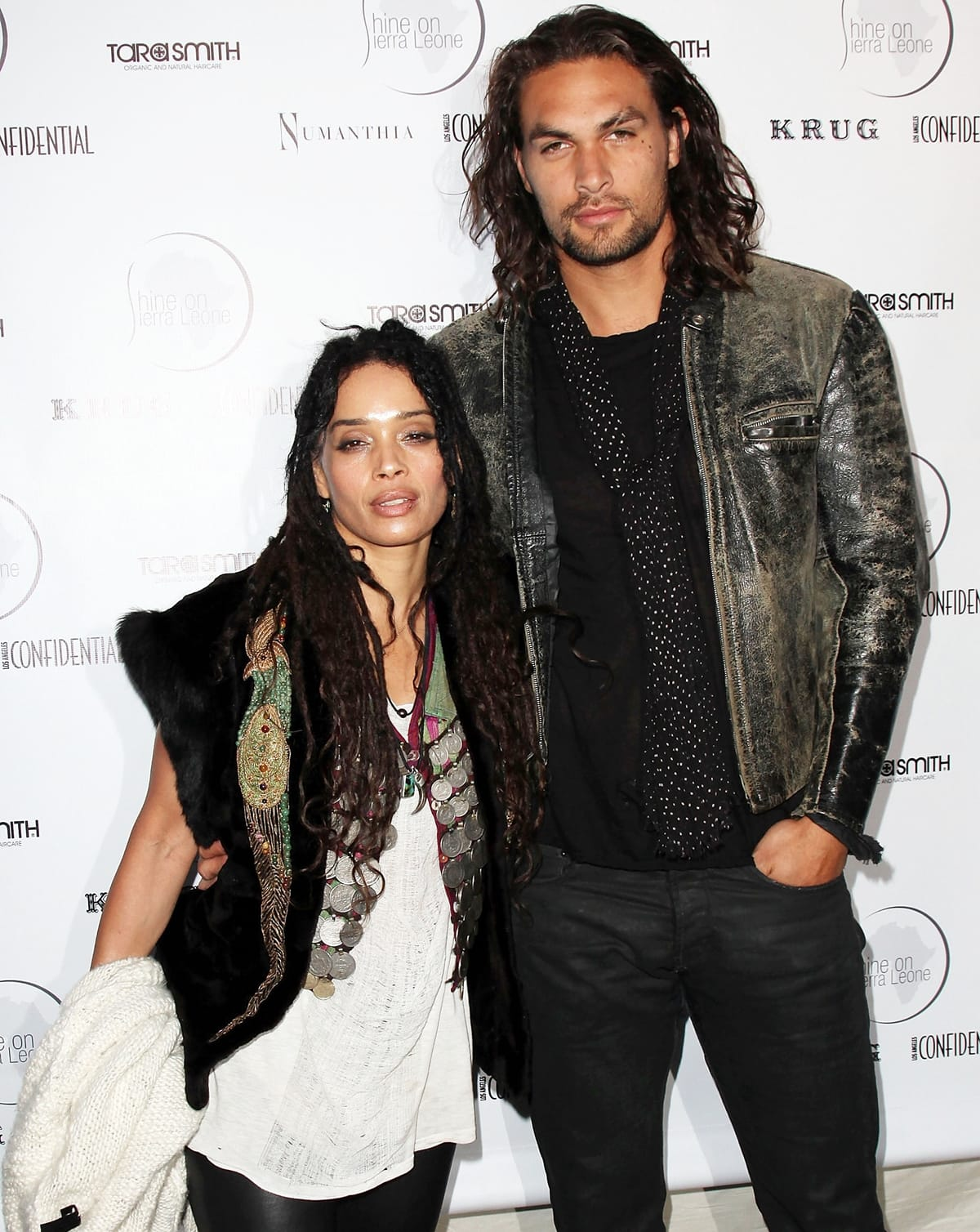 Lisa Bonet and Jason Momoa first met at a jazz club in Los Angeles in 2005