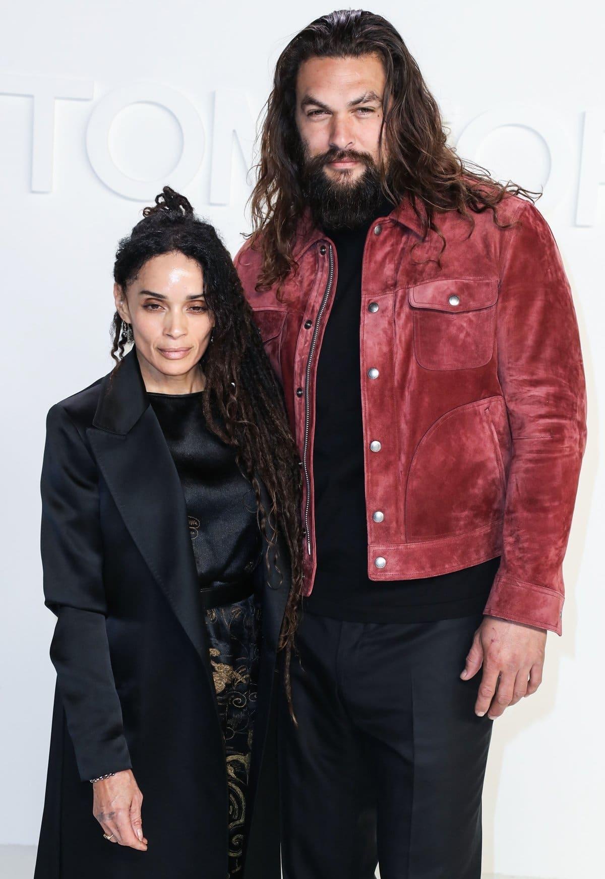 Lisa Bonet is 12 years older than her husband Jason Momoa