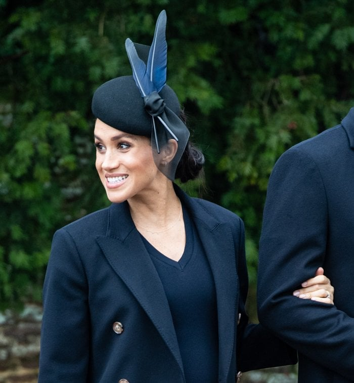 Meghan Markle's Awon Golding Millinery hat