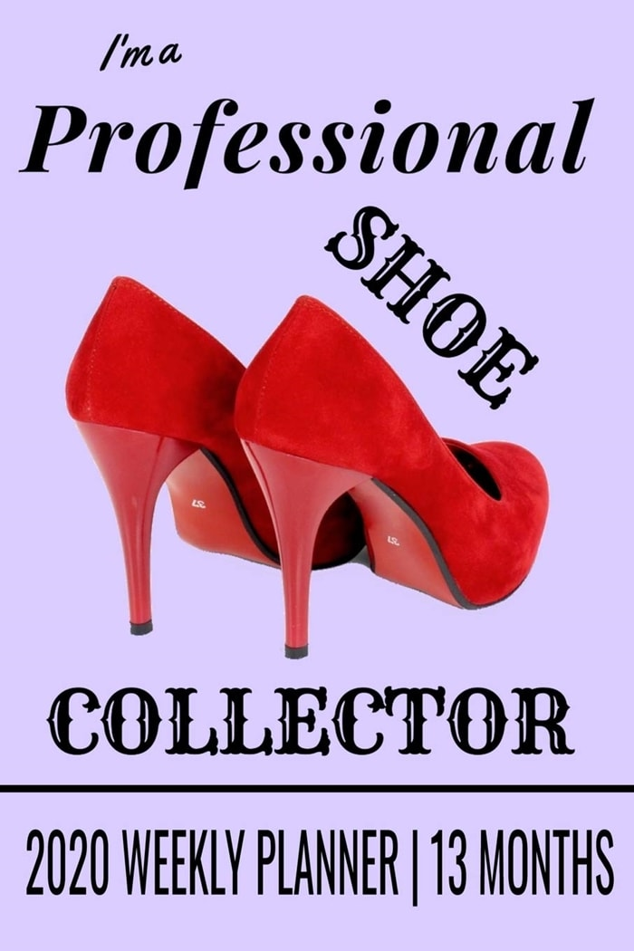 Professional Shoe Collector's Weekly Planner