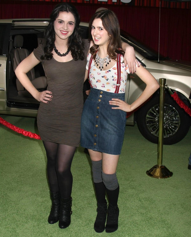Vanessa Marano and her younger sister Laura Marano