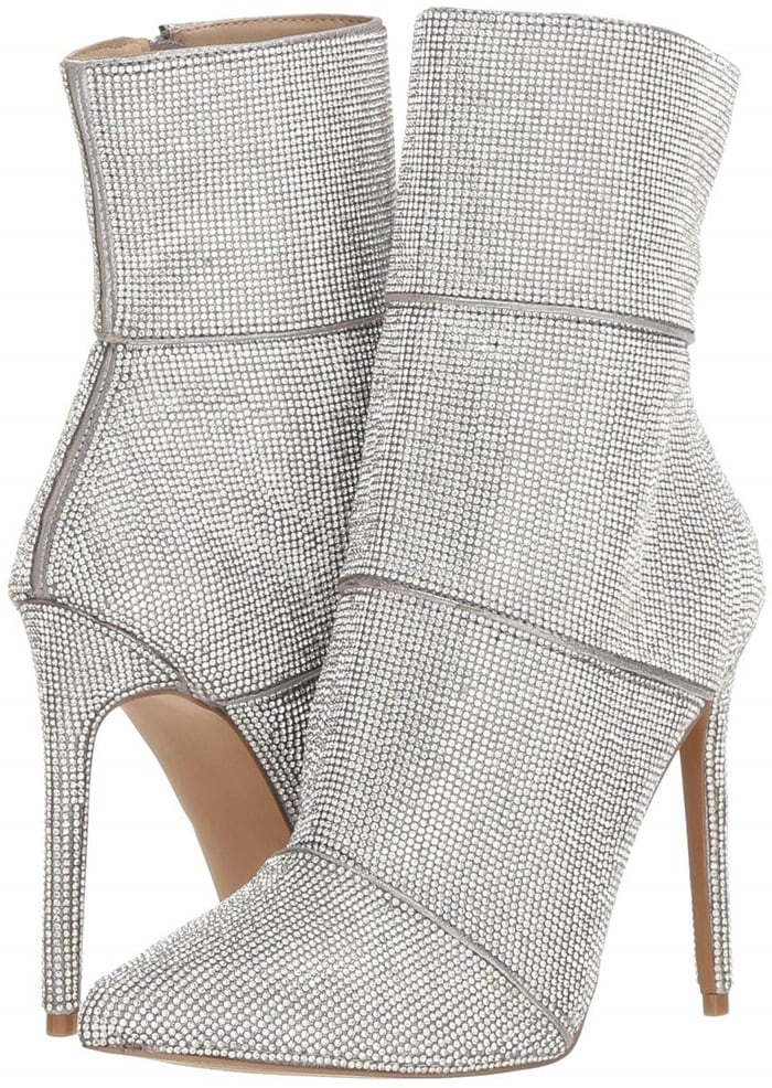 Winona Booties With Crystal Embellishments