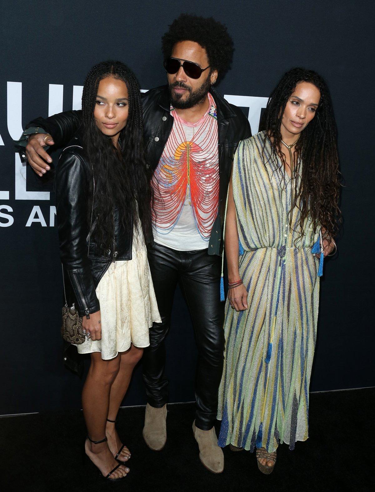 Zoë Isabella Kravitz is the daughter of actor-musician Lenny Kravitz and actress Lisa Bonet