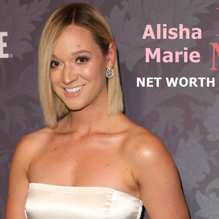 Alisha Marie's net worth is in excess of $3 million