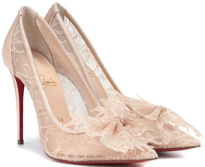 Christian Louboutin expands its sophisticated repertoire with the Delicatissima 100 pumps