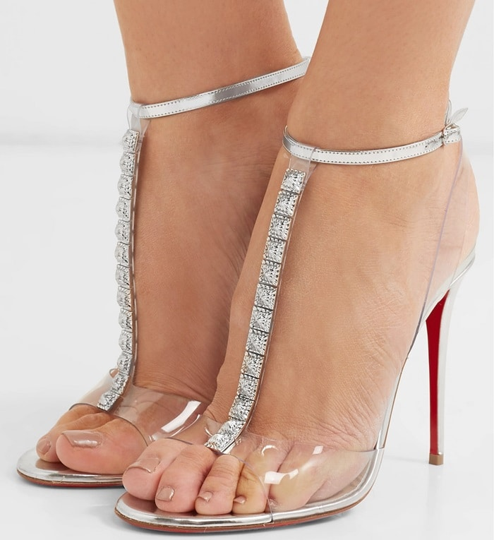 Christian Louboutin's 'Jamais Assez' sandals are as flattering as they are glamorous