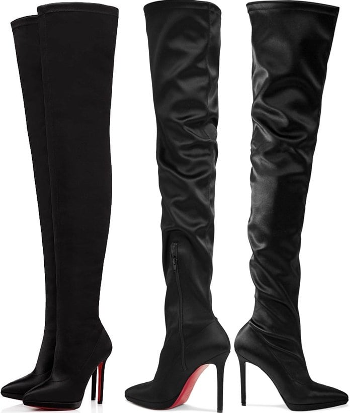 Christian Louboutin 'Montana' Thigh-High Boots
