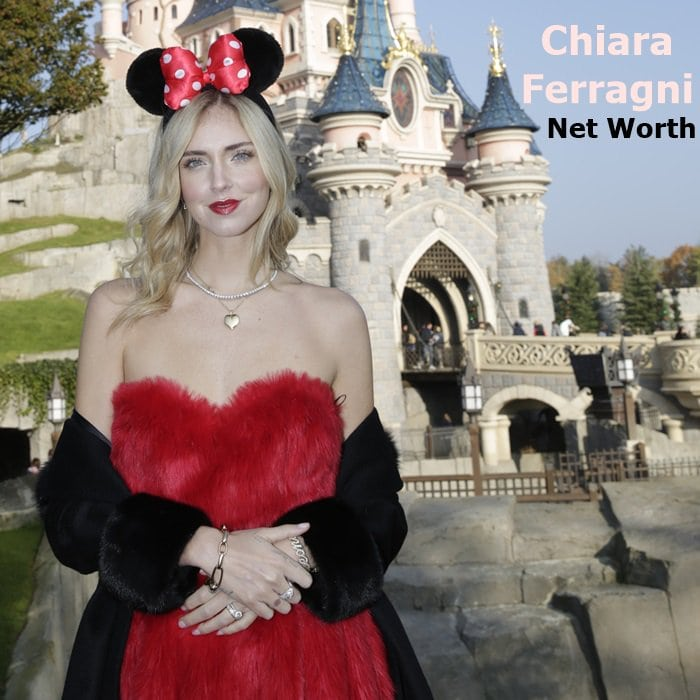 Chiara Ferragni has amassed a fortune through her shoe line, fashion blog, and consulting