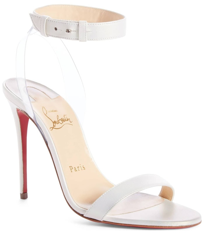 Christian Louboutin 'Jonatina' Sandals in Snow Leather