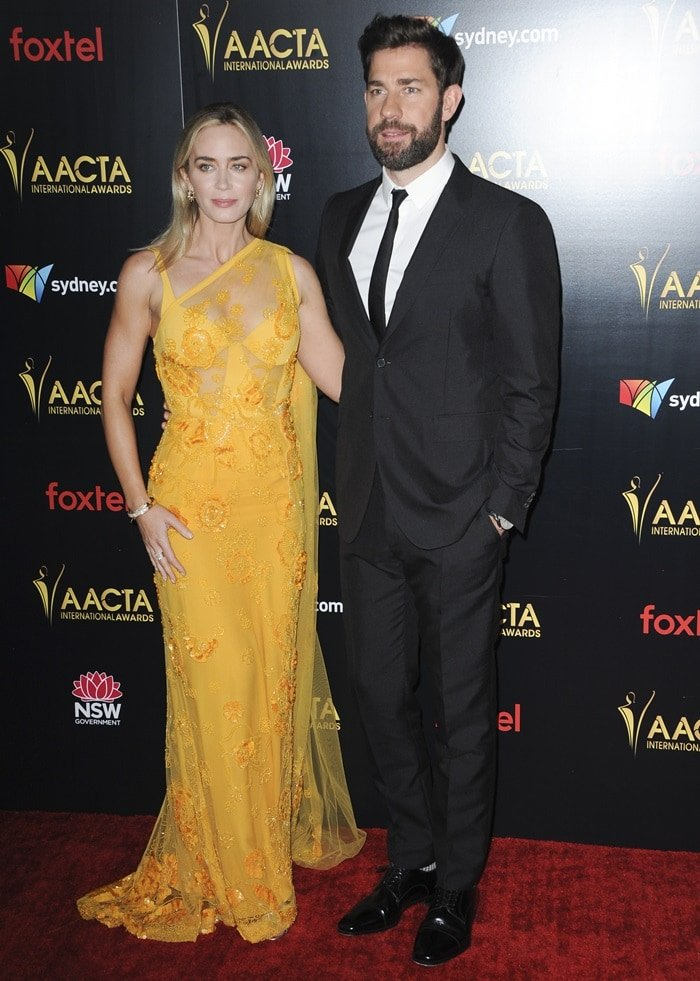 John Krasinski and Emily Blunt were nominated for awards by the Australian Academy of Cinema and Television Arts